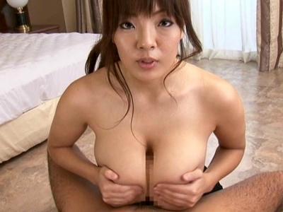 Jカップ超巨乳!爆乳芸能人がパイズリからの生ハメ中出しセックス!!