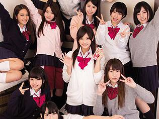 【JK中出し乱交】女子高生と乱交ハーレム企画wwwww