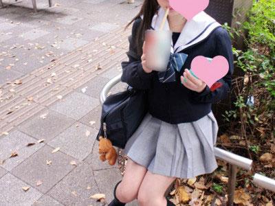 《JK円光》制服のお姉さんが即ハメ企画!援交プレイでロリ美少女を輪姦w