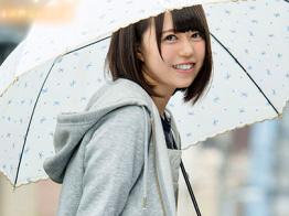【生田みく】貧乳お姉さんがAVデビュー企画wJKコスプレで激イキ