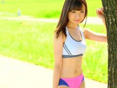 【ロリ美少女】JDのマラソン娘をハメ撮り撮影!女子大生の素人お姉さんをおじさんがハメてアクメ痙攣w