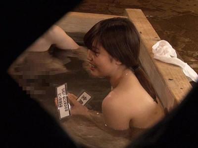 女子大生が混浴企画で発情w3Pや乱交輪姦