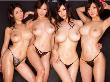 超乳ギャルや痴女AV女優と膣内射精な乱交な企画がヤバイやつ!!
