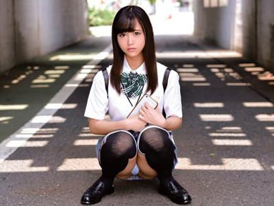 ロリ女子高生が制服着衣で援交の企画w膣内射精OKのヤバイやつ!