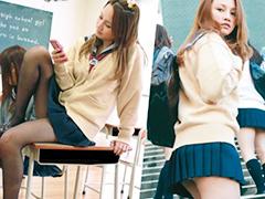 【マリア・エリヨリ】スレンダーな美少女が制服着衣で犯されちゃう企画w女子高生が陵辱企画